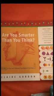 Are you smarter than you think book
