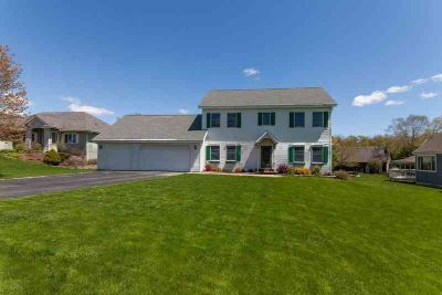 N6489 Shorewood Meadows DR Lake Mills Four BR, This 2-story