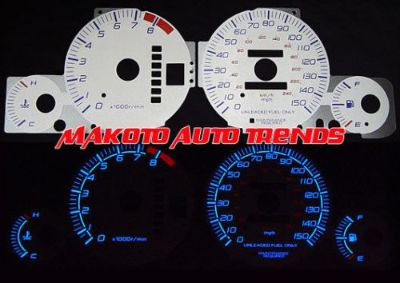 Find 150MPH Indiglo Gauge Silver Reverse Glow Face New For 97-02 Honda Prelude Auto motorcycle in Monterey Park, California, United States, for US $24.99
