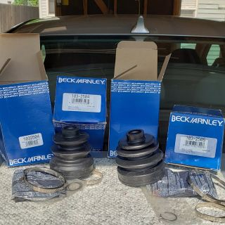 CV Joint Boot Kits, set of four