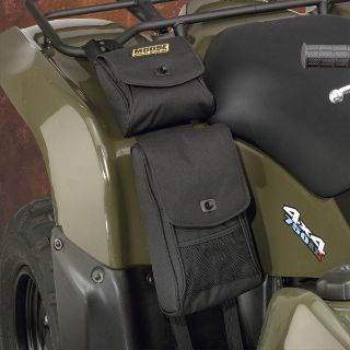 Find New Moose ATV Bighorn Black Fender Bag ATV Luggage Water Resistant motorcycle in Ashton, Illinois, US, for US $31.95