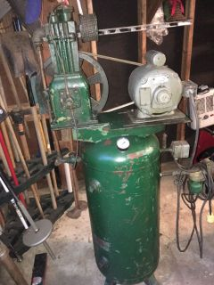 Vintage air compressor 30 gal n