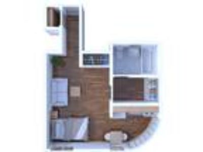 Gramercy Row Apartments - Studio Floor Plan S3