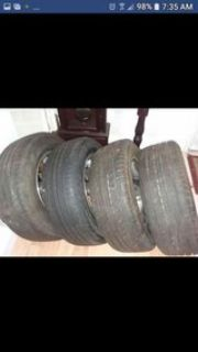 4 New Tires & 4 Ford Rims