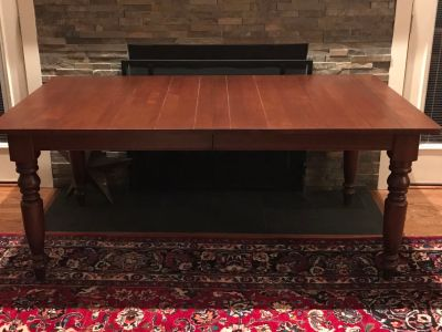 Ethan Allen Solid Wood Dining Table