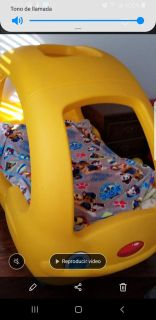 Yellow Buggy Car bed