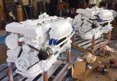 Sell marine diesel engine twin Ford Lehman 2728t 275hp With Transmission cummins cat motorcycle in Hialeah, Florida, United States, for US $18,999.00
