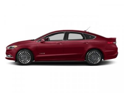 2018 Ford Fusion Hybrid Titanium (Ruby Red Metallic Tinted Clearcoat)