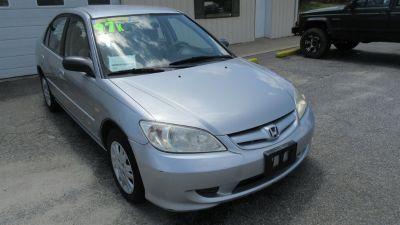 2005 Honda Civic LX (Silver Or Aluminum)