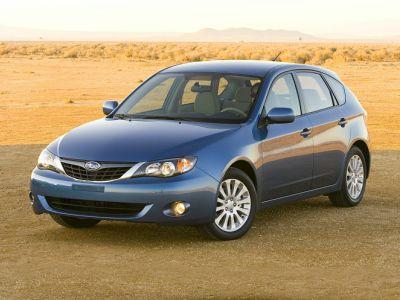 2008 Subaru Impreza 2.5i (Satin White Pearl)