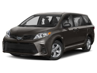 2019 Toyota Sienna Limited (White)