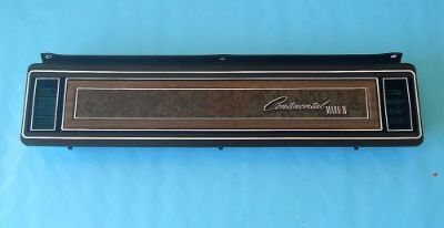 Buy 1972-76 Lincoln Mark IV Dash Panel with Vents (Passenger Side) motorcycle in Palatine, Illinois, United States, for US $59.95