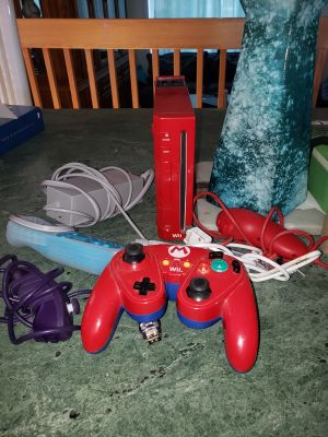 Nintendo Wii red edition