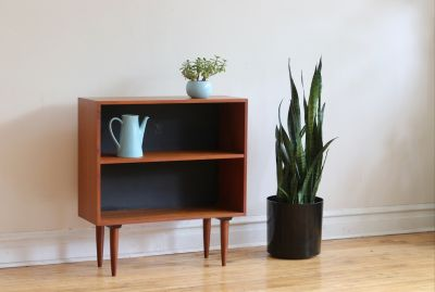 Mid Century Danish Modern Small Teak Shelf