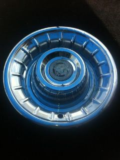 "Find 1955-56 OEM STAINLESS STEEL CADILLAC HUBCAP/WHEEL COVER 15"" SOMBRERO STYLE motorcycle in Garland, Texas, US, for US $75.00"