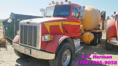 1999's & 2000's Peterbilt Rear Discharge 10.5 Yard Cement Mixers - (15) Available