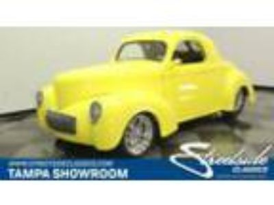 1941 Willys Coupe Pro Touring willys coupe 502 chevy pro touring resto mod