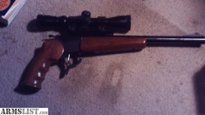 For Sale: Thompson Contender .17HMR