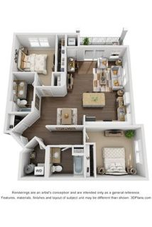 2 bedrooms Apartment - Welcome to Northgate Crossing.