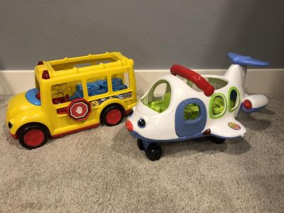 Little People Bus and Airplane