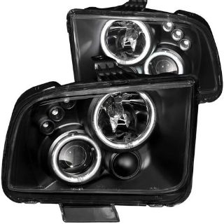 Find Anzo Headlights 2010 Style Projector G2 Halo CCFL for 2005-2009 Mustang 121302 motorcycle in Bridgeport, Texas, US, for US $431.85