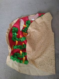 Adult Taco Halloween Costume One Size Fits Most