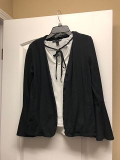 Forever 21 blazer and top size small/m
