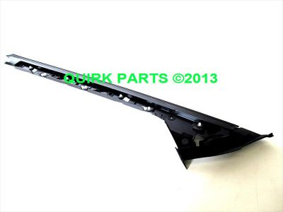 NEW OEM LH DRIVERS SIDE FRONT ROOF RAIL CAP BLACK 2007-2013 EDGE /& LINCOLN MKX