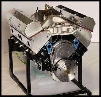 SBC CHEVY 383 STROKER PRO STREET MOTOR 550 hp BASE ENGINE