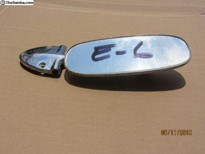 1958 to 1964 bug rear view mirror E-6