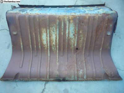 Package Tray Section Rust Repair Panel