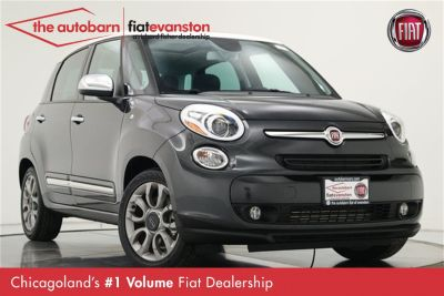 2017 Fiat 500L Lounge (Grigio Scuro (Gray Metallic))