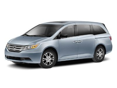 "2011 Honda Odyssey EX-L w/DVD (""Polished Metal Metallic"")"