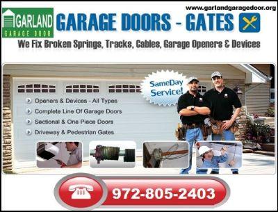 Expert Broken Garage Door Repair Company in Garland, TX