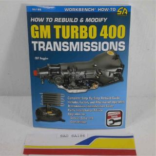 Buy SA Designs SA186 Book - Transmission Rebuild & Modify GM TH400 Transmiss motorcycle in Decatur, Georgia, United States, for US $17.98