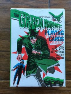 Official Green Hornet Playing Cards No. 49
