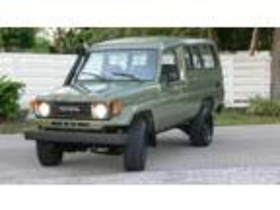 1985 Toyota Land Cruiser FZ Wagon