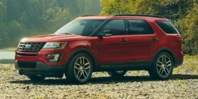 2017 Ford Explorer XLT (Red)