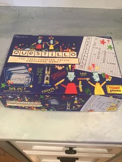 Questillo board game - missing only pencils