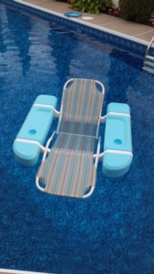 Floating pool chairs (2)