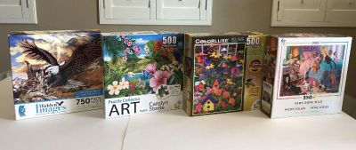 Jigsaw Puzzles Set of 4