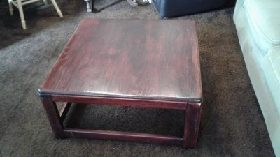 Real wooden coffee table