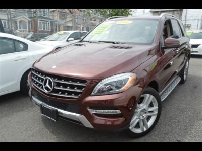 2014 Mercedes-Benz M-Class ML350 4MATIC (Red)