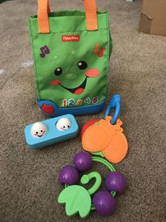 Fisher Price Laugh & Learn Grocery Bag