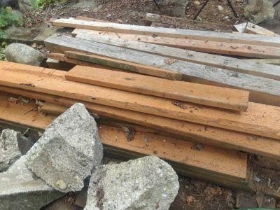 Cedar boards and misc