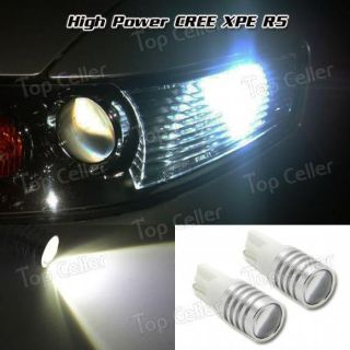 Find T10 White CREE XP-E R5 High Power LED Projector Lens Parking Light Bulb 2825 168 motorcycle in Milpitas, California, United States