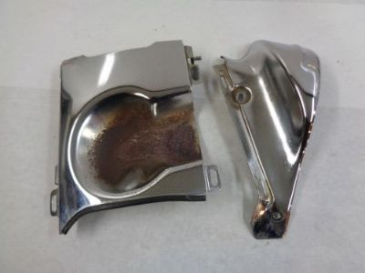 Buy 1987-2007 Honda VT1100C Shadow Spirit Chrome Heat Shield, Protection Panel 6065 motorcycle in Kittanning, Pennsylvania, United States, for US $24.99