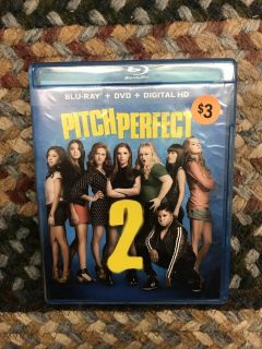 PITCH PERFECT 2 Blu-Ray+DVD+Digital HD
