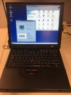 VINTAGE IBM 390E Thinkpad Laptop *WORKING* GREAT CONDITION! Circa 1992-1994