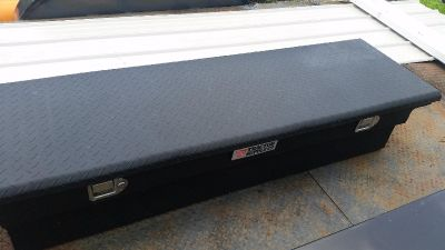$100, Truck bed tool box